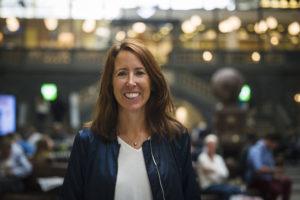 Jenny Gejke ansvarar för SJ:s digitala försäljningskanaler.