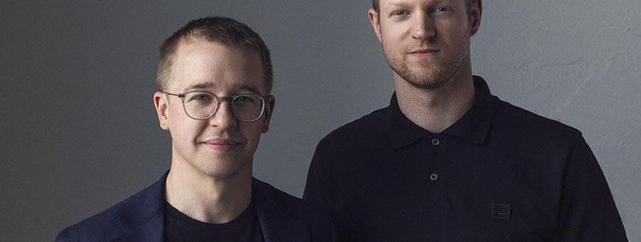 Niklas Laninge och Arvid Janson